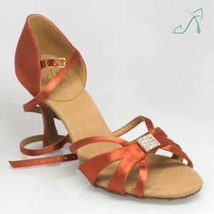 889 Tropic Dark Tan Satin