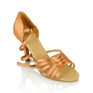 865-X Selene Xtra Light Tan Satin